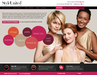 Homepage for styleunited.com